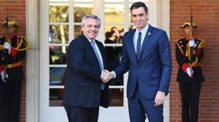 El Presidente dijo que recibió importantes apoyos para renegociar la deuda
