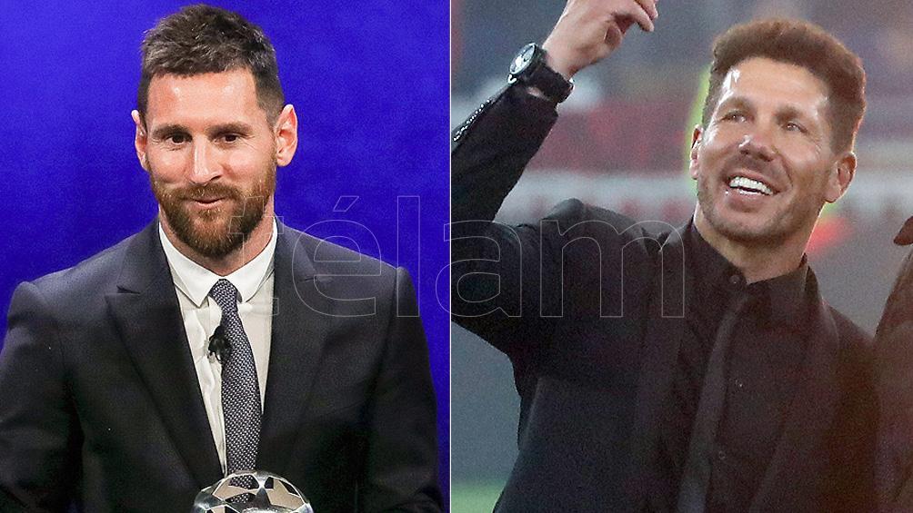 Lionel Messi y Diego Simeone, los mejores pagos del mundo