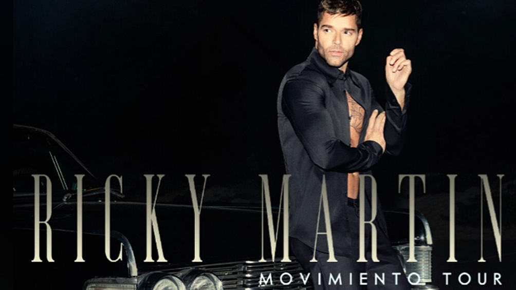 Ricky Martin arrancó la gira Movimiento Tour que lo traerá a la Argentina