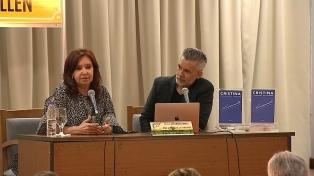 """Cristina Fernández respaldó la idea de """"una revisión integral de las tarifas"""""""