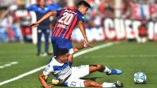 San Lorenzo derrotó a Vélez y consiguió su primera victoria del año