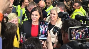 El Sinn Féin fue el partido más votado en las parlamentarias y tiene chances de gobernar