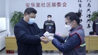 Xi Jinping pidió más para los profesionales de la salud que combaten el coronavirus