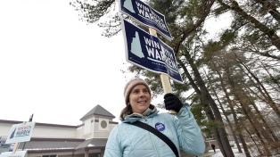 La crucial primaria de New Hampshire anima la carrera a la Casa Blanca