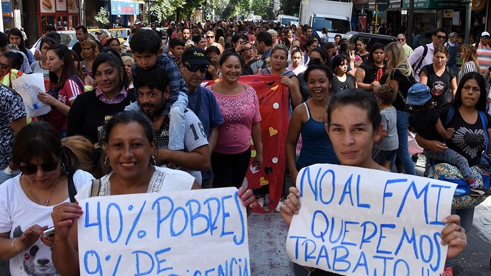 Movilización en Córdoba