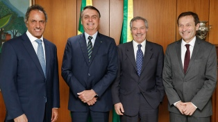 Bolsonaro dijo que ya puso en marcha un posible apoyo a la Argentina en el tema deuda