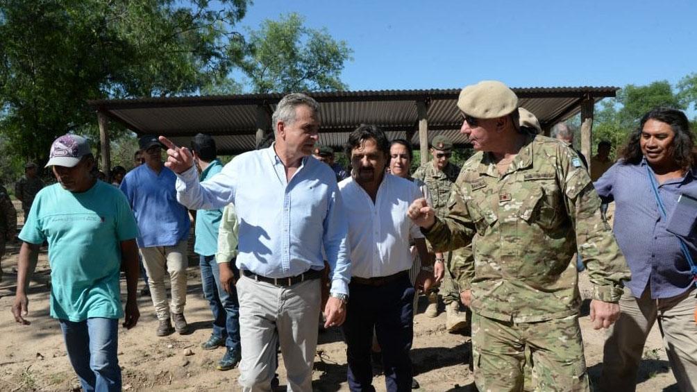 Rossi y Sáenz supervisaron operativo de asistencia a poblaciones con desnutrición