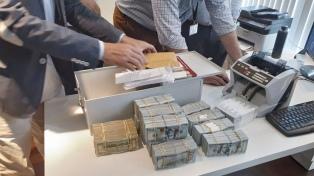 Secuestran más de US$ 1 millón de dólares y casi $ 9 millones por lavado de activos