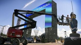 Un restaurado San Martín de casi tres metros será el símbolo del nuevo Tecnópolis