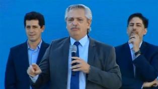 El Presidente visita el Centro Recreativo Nacional de Ezeiza