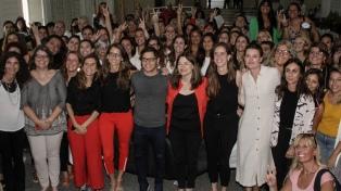 """Kicillof: """"La solución a la violencia de género es colectiva"""""""