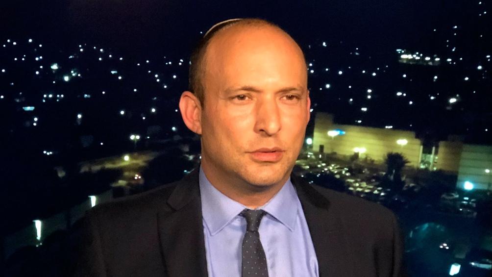 Naftali Bennett, ministro de Defensa israelí
