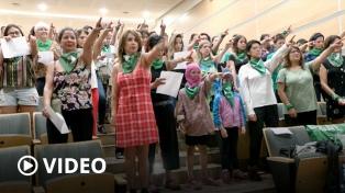 """""""Nuestra canción expresó el sentir de mujeres de todo el mundo"""", dijo el grupo Las Tesis"""