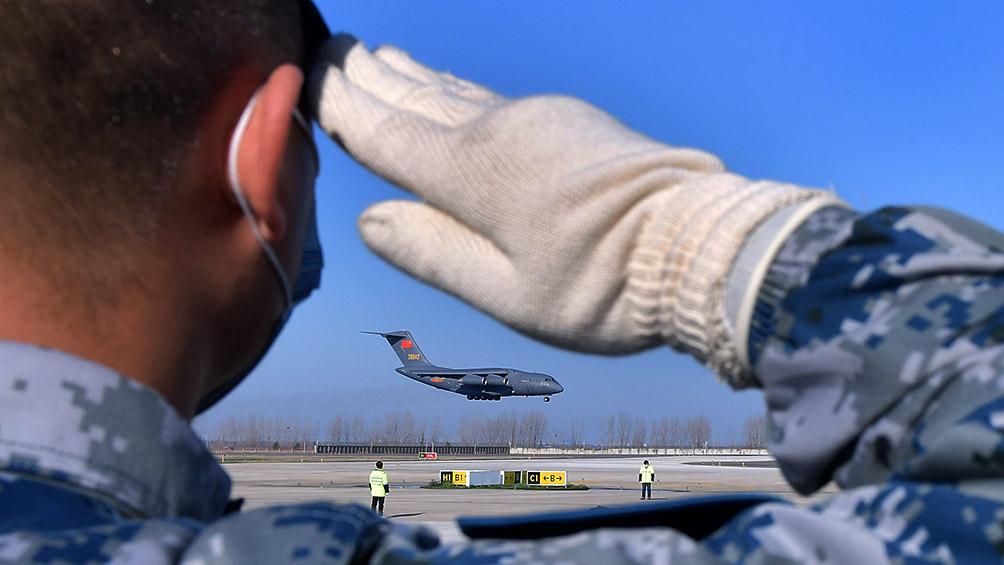 Los ocho argentinos evacuados de Wuhan ya se encuentran en Ucrania
