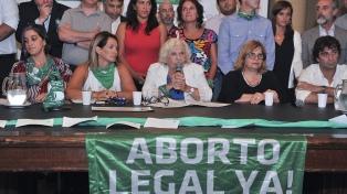 Apoyo de todos los bloques al proyecto de ley de adhesión al protocolo ILE