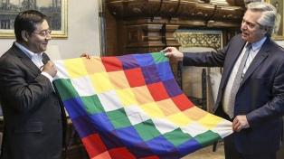 Fernández recibió a Luis Arce, el candidato presidencial del MAS