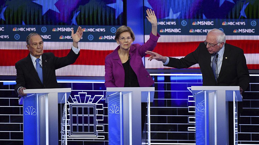 Bloomberg salió muy golpeado en los debates demócratas