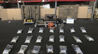 Desbaratan una banda narco que operaba entre Argentina y España y secuestran más de 31 kilos de MDMA