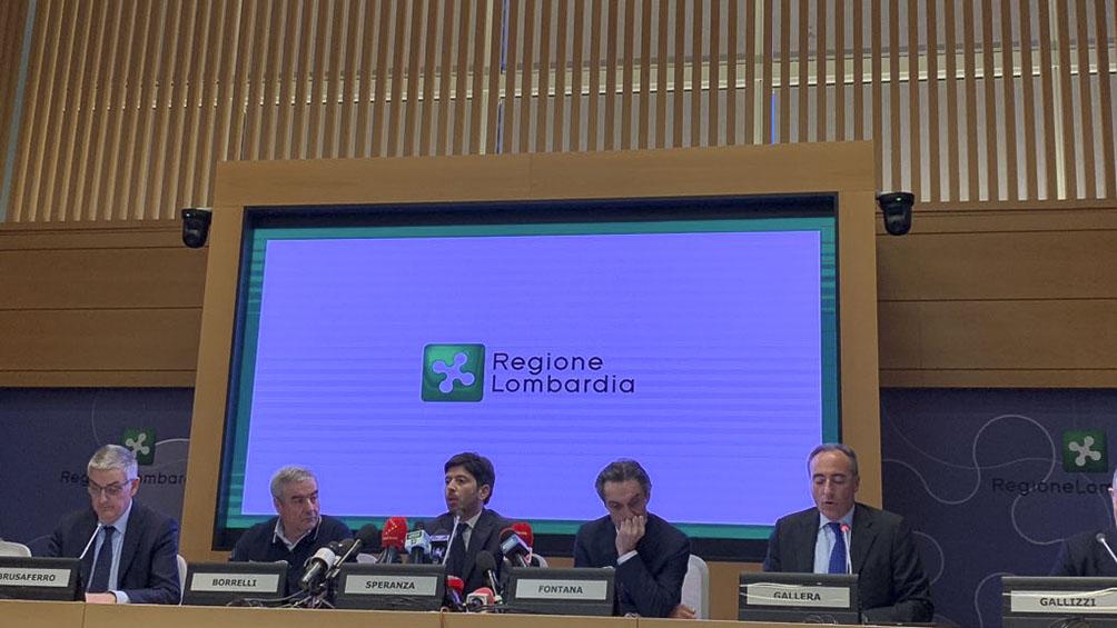 El gobierno de Lombardía advierte que pronto quedará sin camas de hospital para tratar el coronavirus
