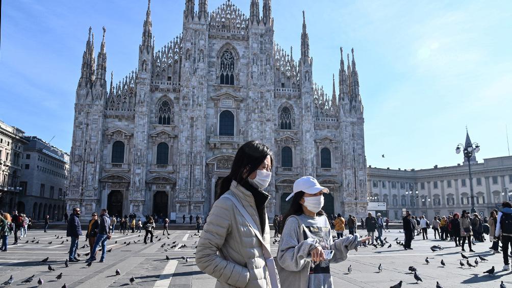 Se elevan a 10 los muertos y a 322 los contagios por coronavirus en Italia