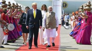 Trump cubrió a Modi y se negó a hablar de la polémica ley de ciudadanía
