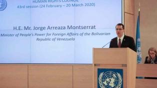 """Venezuela acusó a EEUU de hacer """"terrorismo económico"""""""