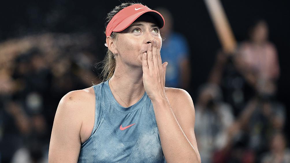 La rusa María Sharapova anunció su retiro