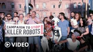 """La lucha contra los robots asesinos es contra una nueva """"forma de hacer las guerras"""""""