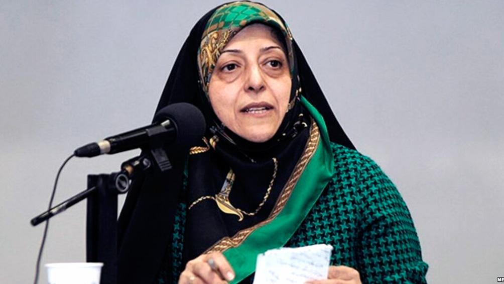 La vicepresidenta de Irán tiene coronavirus