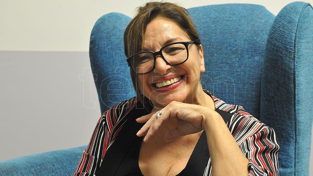 Mavi Díaz asume como
