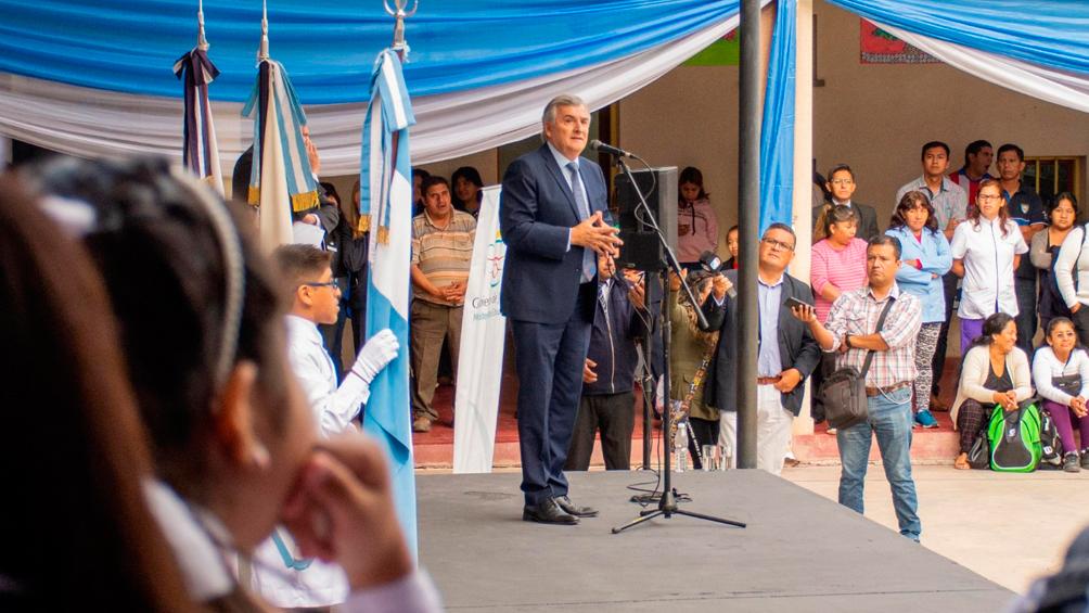 Morales inauguró el ciclo escolar en Jujuy y dijo que se construirán 139 escuelas nuevas