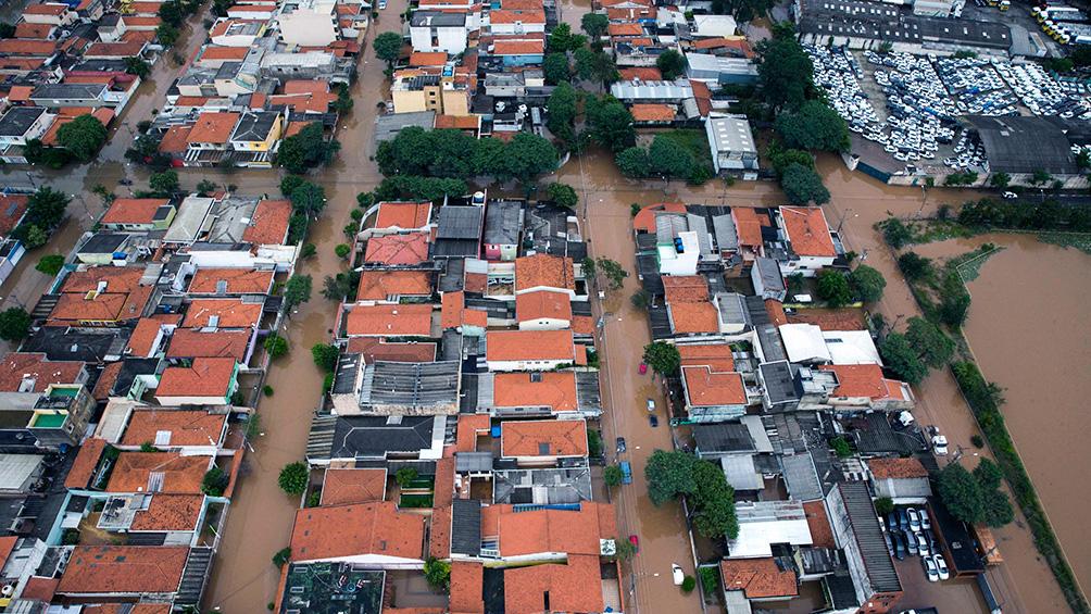 Al menos diez muertos en la costa de San Pablo tras un temporal que provocó aludes