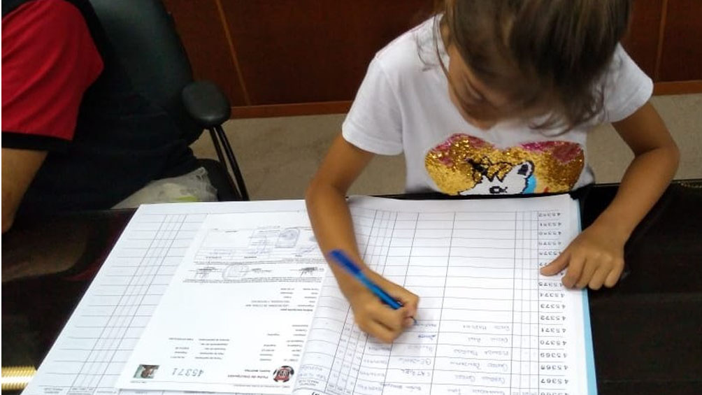 Martina Raspo, la luchadora de 9 años que cumplirá su sueño