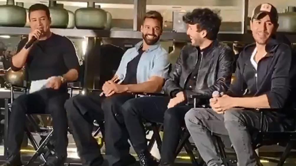 Ricky Martin y Enrique Iglesias anunciaron una gira en conjunto