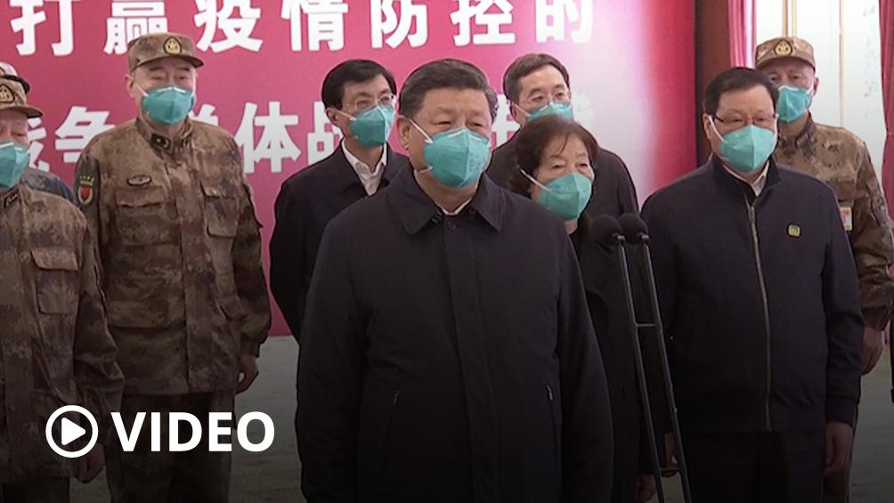 Xi Jinping visita Wuhan, el epicentro del coronavirus