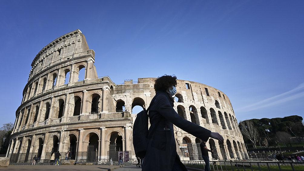 Calles desoladas en Roma y el Vaticano, mientras las muertes llegan a 631 en toda Italia