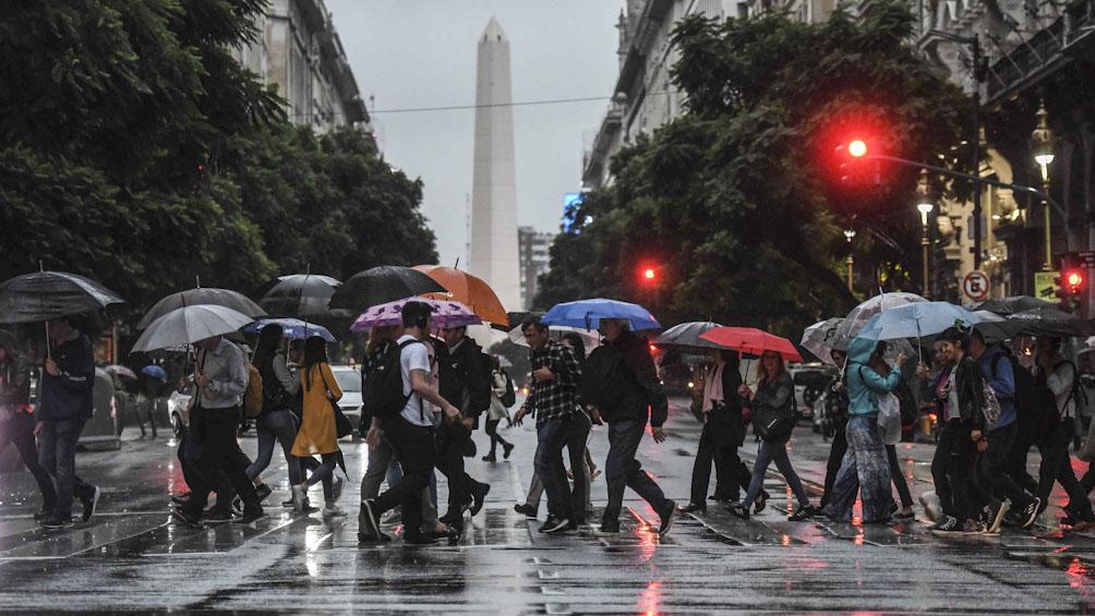 Miércoles con lluvias aisladas y una máxima de 24 grados en la Ciudad