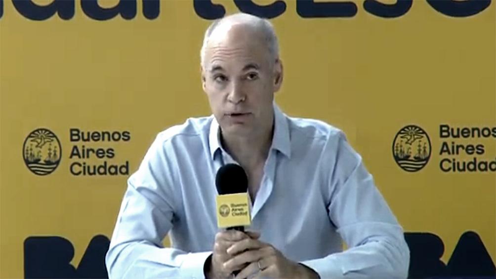 Rodríguez Larreta:
