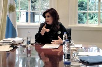 Cristina se reunió con diputados del FPV y les agradeció su labor