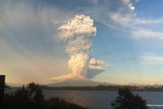 Siguen paso a paso la situación por la erupción del volcán Calbuco