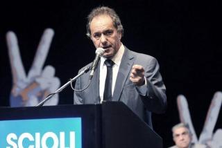 Daniel Scioli acusó a Macri de �querer sembrar violencia y pánico�