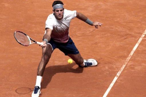 Del Potro consiguió un muy buen triunfo en su debut en el Masters 1000 de Madrid ,.