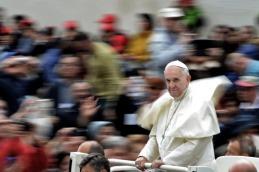 """Francisco alertó sobre la """"tentación de una Iglesia cerrada en sí misma"""""""