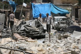 Turqu�a atac� por segundo d�a posiciones del Estado Isl�mico en el norte de Siria