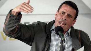 El chavismo también dejó fuera de las elecciones presidenciales al partido de Capriles