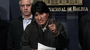 Evo Morales acusó a Chile de violar el derecho de información