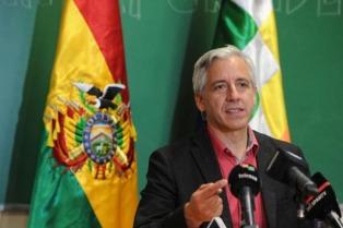 Irónico saludo del vicepresidente boliviano a la supuesta unidad de la oposición