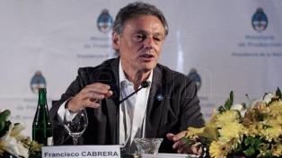 """Cabrera estimó que la economía """"crecerá entre el 3,5 y 5%"""""""