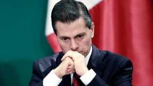 Peña Nieto deja este sábado el gobierno con una alta desaprobación