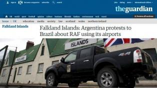 La preocupación argentina por los vuelos entre Malvinas y Brasil llegó a la prensa británica